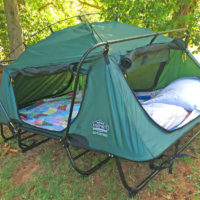 Double Tent Cot - Keeps You Off The Cold Hard Ground For Camping