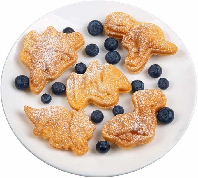 Dinosaur Waffles