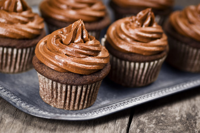 Chocolate Frosting Cupcakes