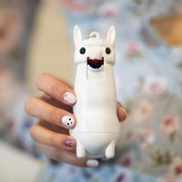 Pepper Spray Spitting Llama Keychain - Cutest Way To Defend Yourself