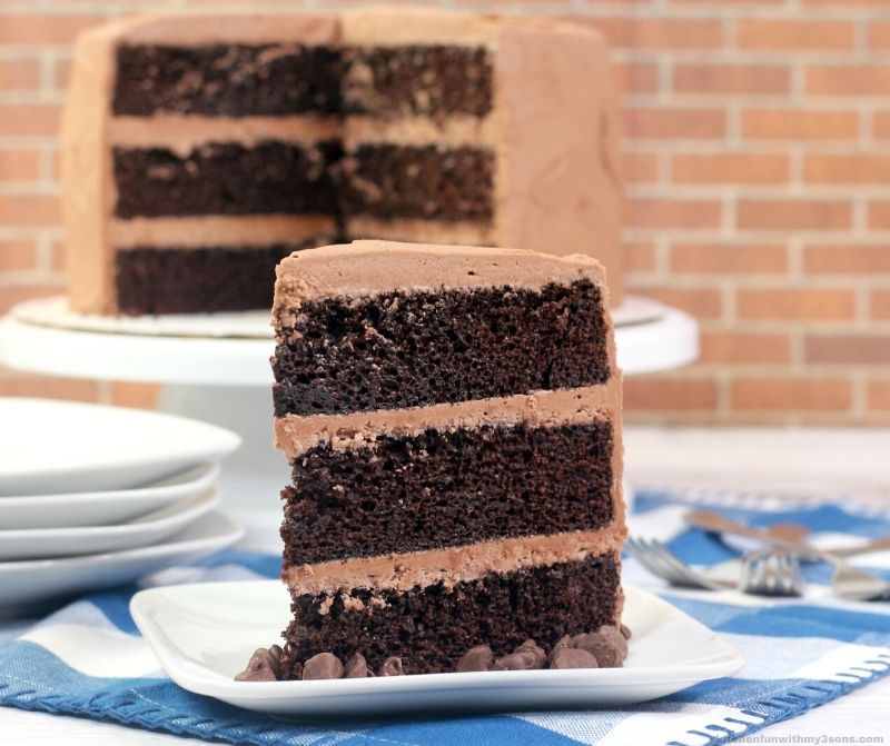 recipe of chocolate cake