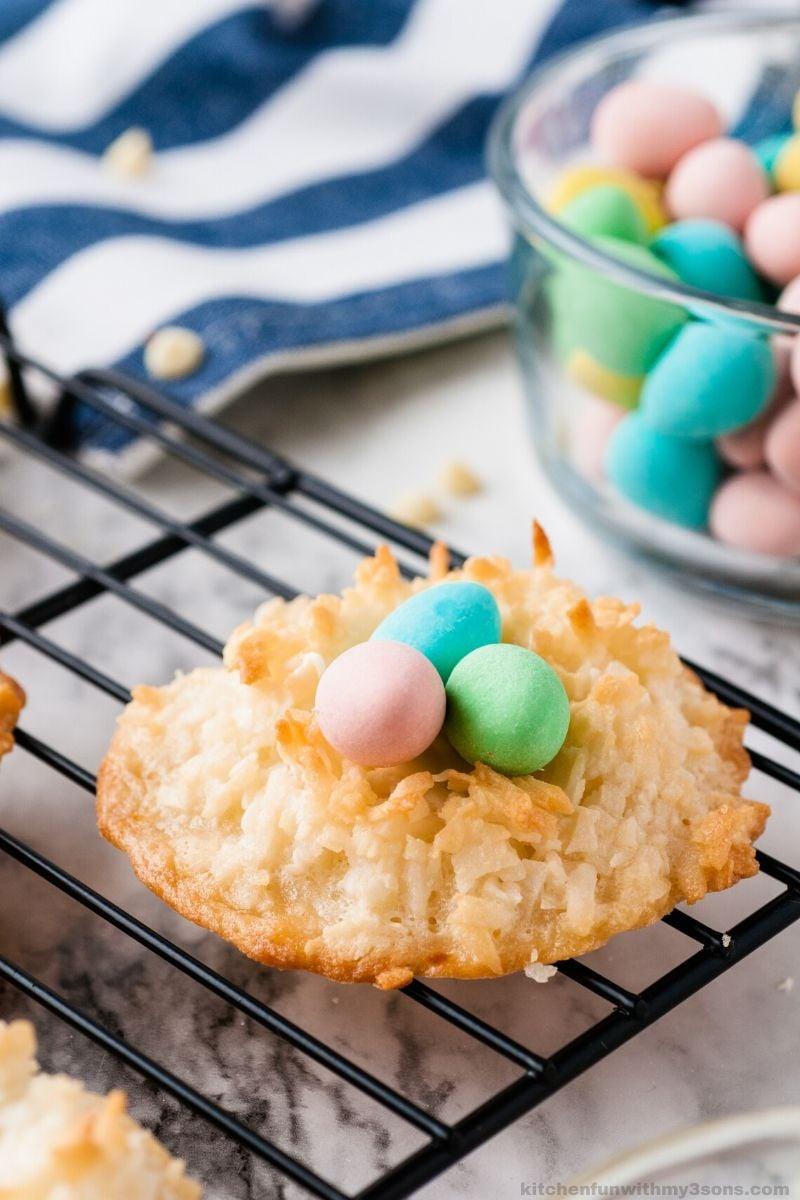 Coconut Macaroons Recipe Easter Birds Nests