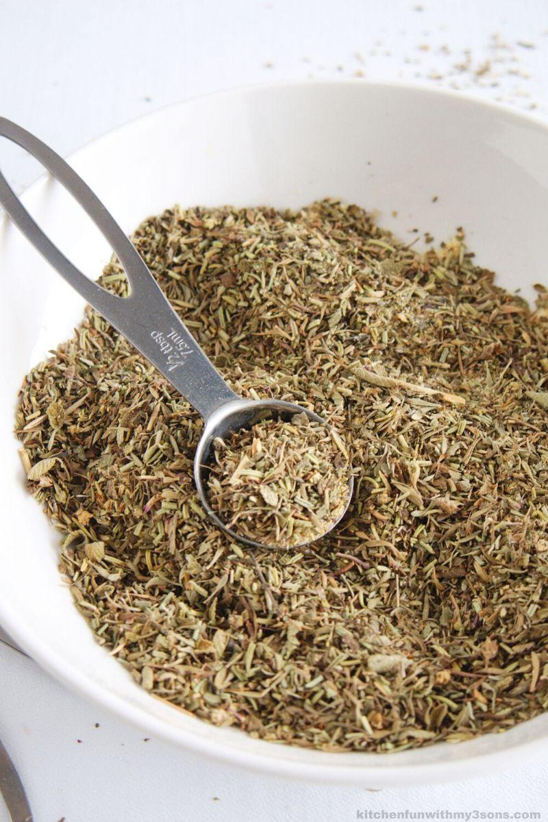 Homemade Seasoning in a bowl