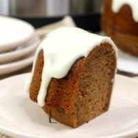 Instant Pot Maker's Mark Bourbon Cake Bundt