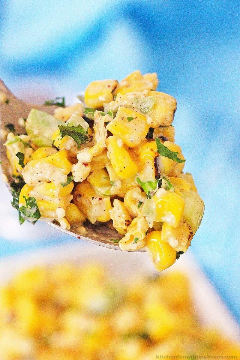 Instant Pot Mexican Street Corn
