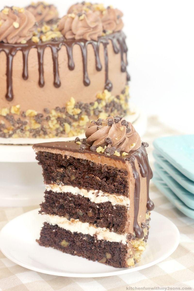 New York Super Chocolate Fudge Cake