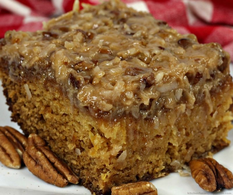 Old Fashion cajun cake