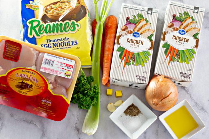 Chicken Soup Ingredients