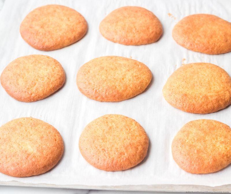 Pineapple Cream Filled Whoopie Pie cookies