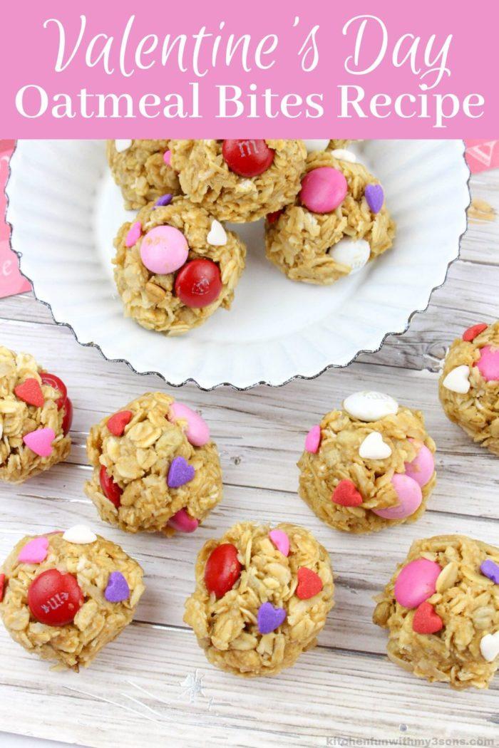 Valentine's Day Oatmeal Bites Recipe