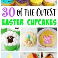 30 of the Cutest Easter Cupcakes