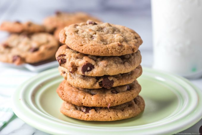Cappuccino Coffee Chocolate Chip Cookies