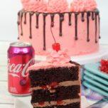 Layered Cherry Cola Cake