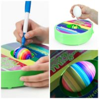 Easter Egg Decorator Machine - Lets Kids Create The Coolest Eggs Without the Mess