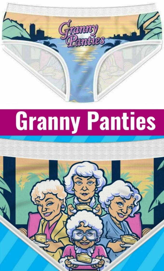 Granny Panties Briefs with Golden Girls