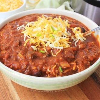 Instant Pot 3 Bean Chili