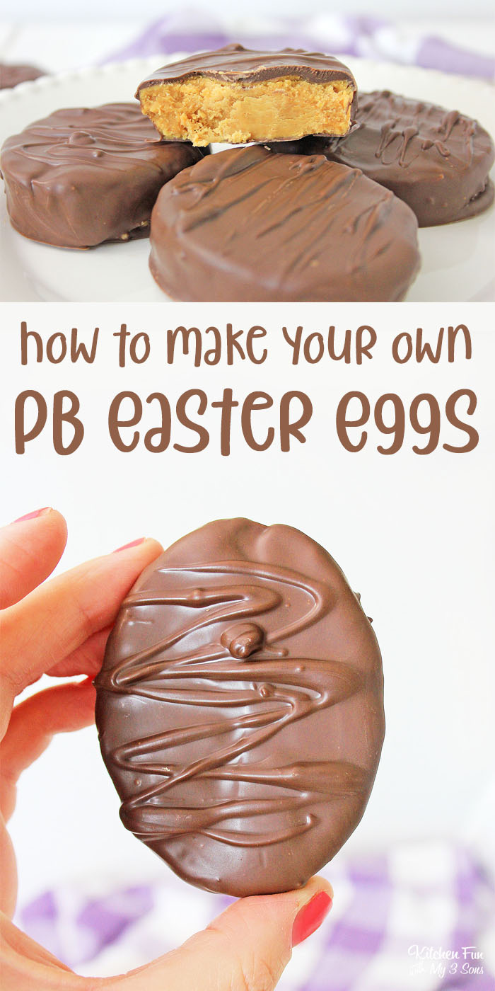 Reese's Peanut Butter Eggs are the Easter dessert you need! If you love chocolate and peanut butter, you can make your own Reese's eggs at home.