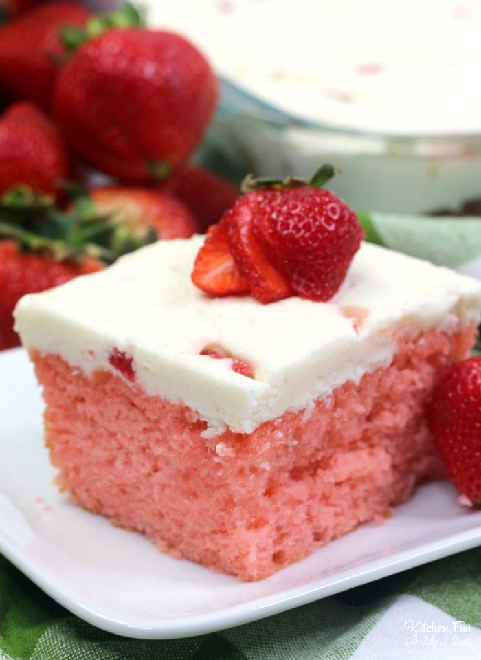 Strawberry and Cream Cake Recipe