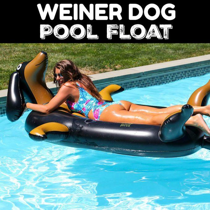 Weiner Dog Dachshund Pool Float