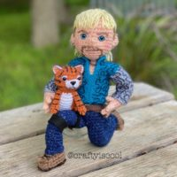 Crochet Tiger King Dolls