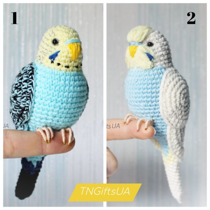 Easy Crochet Bird Pattern