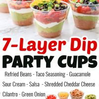 7-Layer Dip Party Cups