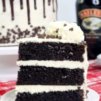 Bailey's Irish Cream Layer Cake