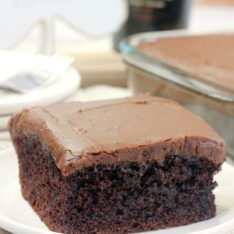 Bailey's Irish Cream Sheet Cake