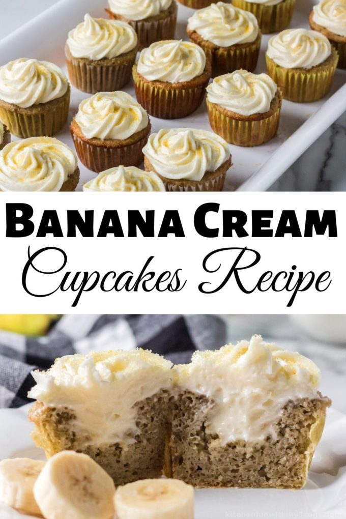 Banana Cream Cupcakes Recipe