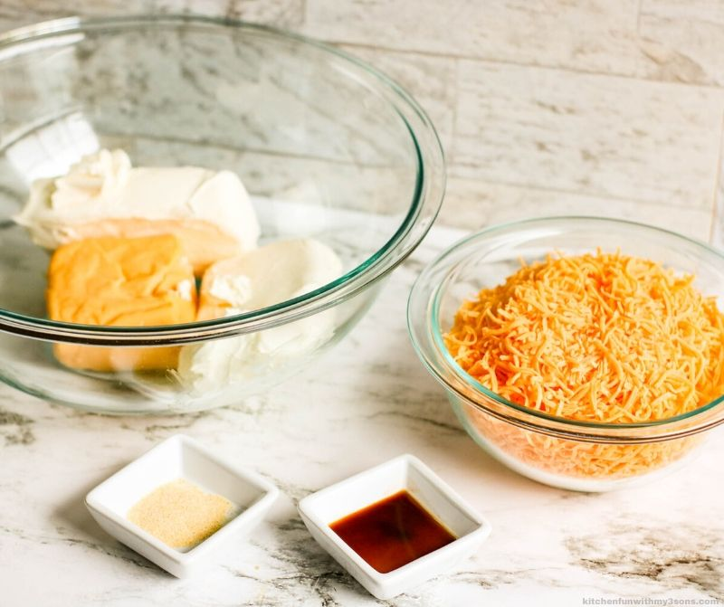 cheese ball ingredients