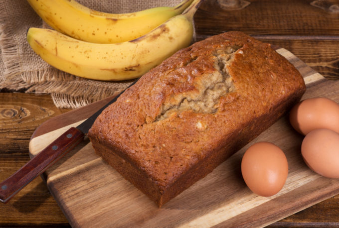 Easy 5-ingredient Banana Bread