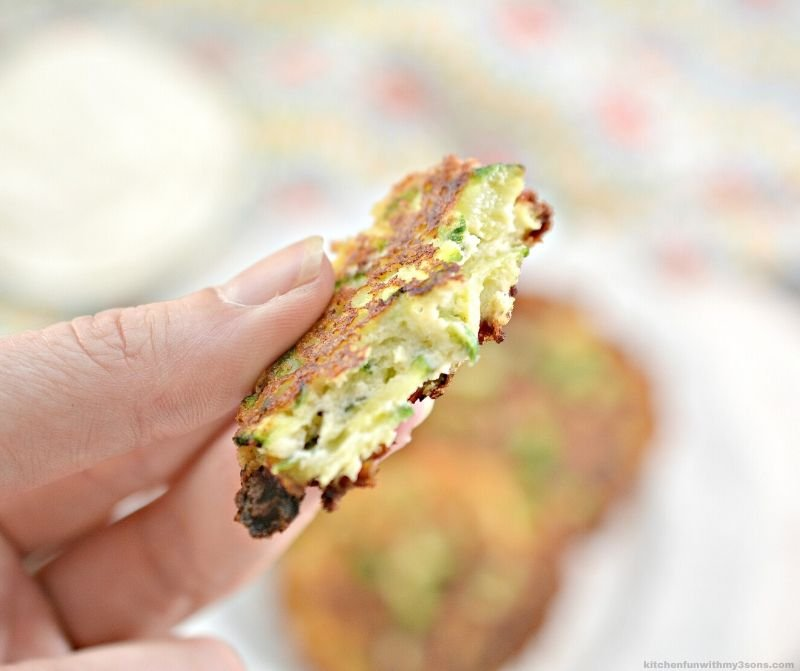 Fresh Zucchini Fritters Recipe