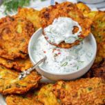 Fresh Zucchini Fritters Recipe