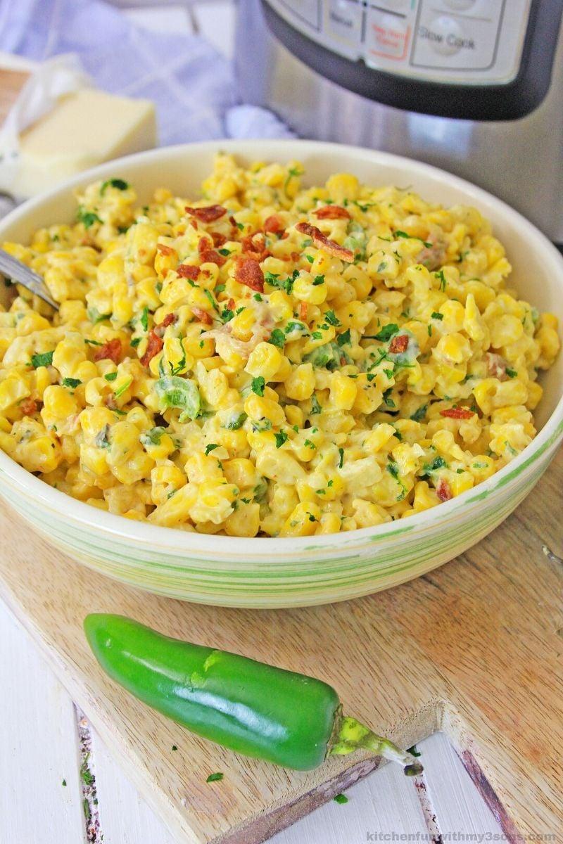 Instant Pot Mexican Corn Dip