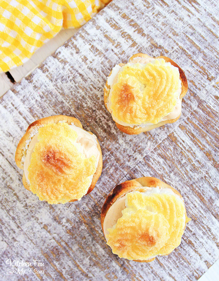 Lemon Meringue Pie Bites are tiny little bite-sized pies that taste just as good as the full version. These adorable mini desserts will be everyones new favorite.