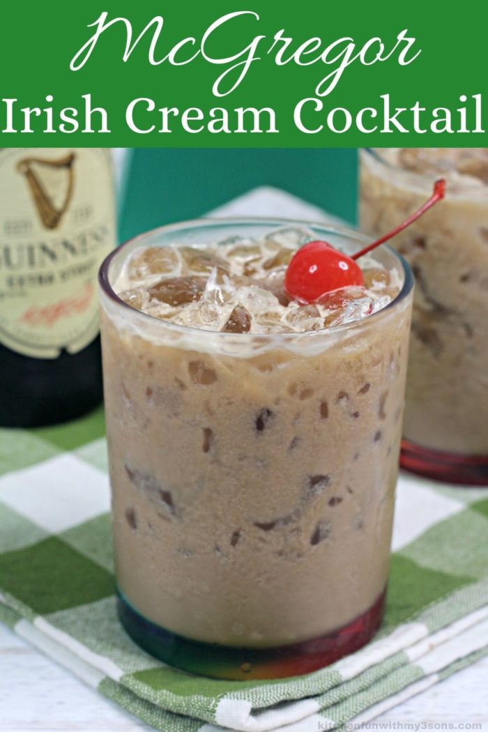 McGregor Irish Cream Cocktails Recipe