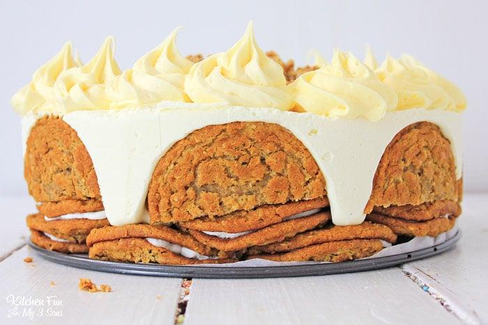 Oatmeal Cream Pie Cake