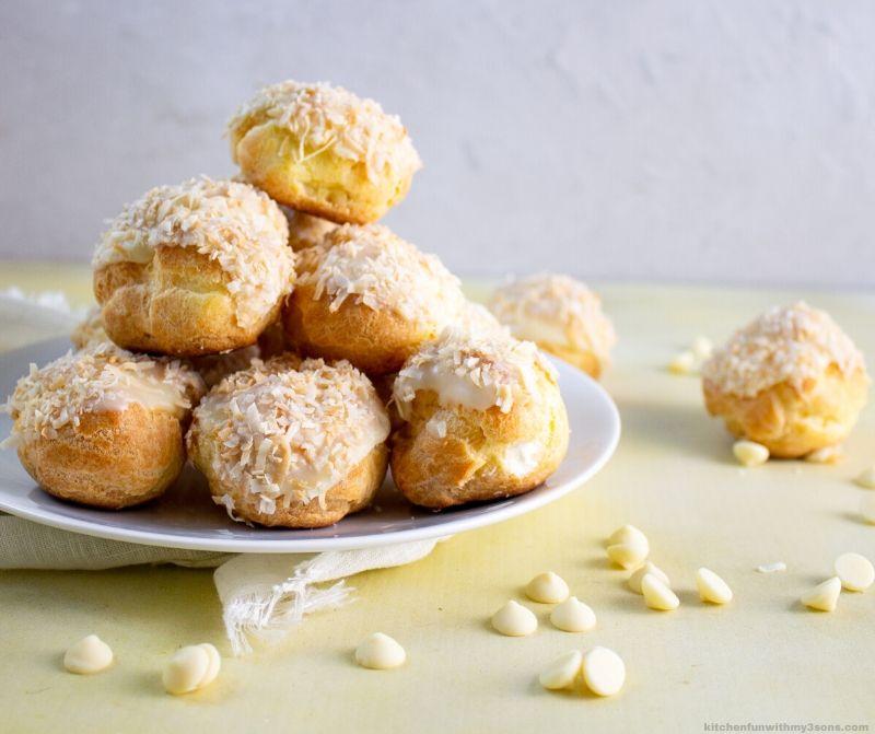 Orange Coconut Cream Puff Recipe