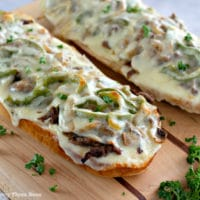 Philly Cheesesteak Cheese Bread