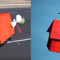 Snoopy Dog House Drone