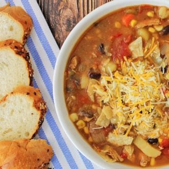 Tex Mex Chicken Chowder Recipe