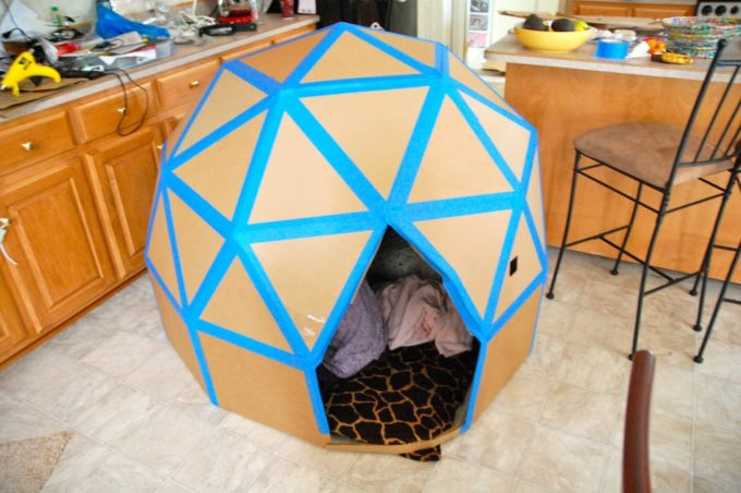 How to make a Dome out of Cardboard