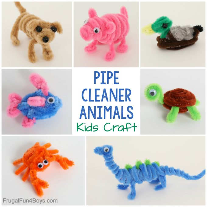 Pipe Cleaner Animals