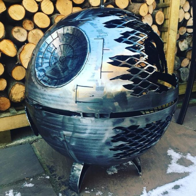 Death Star - These Themed Wood Burners And Fire Pits Go Above and Beyond