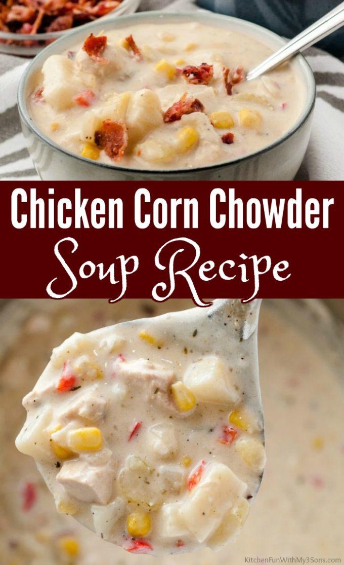 Chicken Corn Chowder Soup Recipe