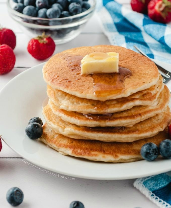 Hot To Make The BEST Fully Pancakes