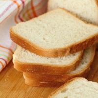 Homemade White Bread Slices