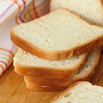 Homemade White Bread Slices