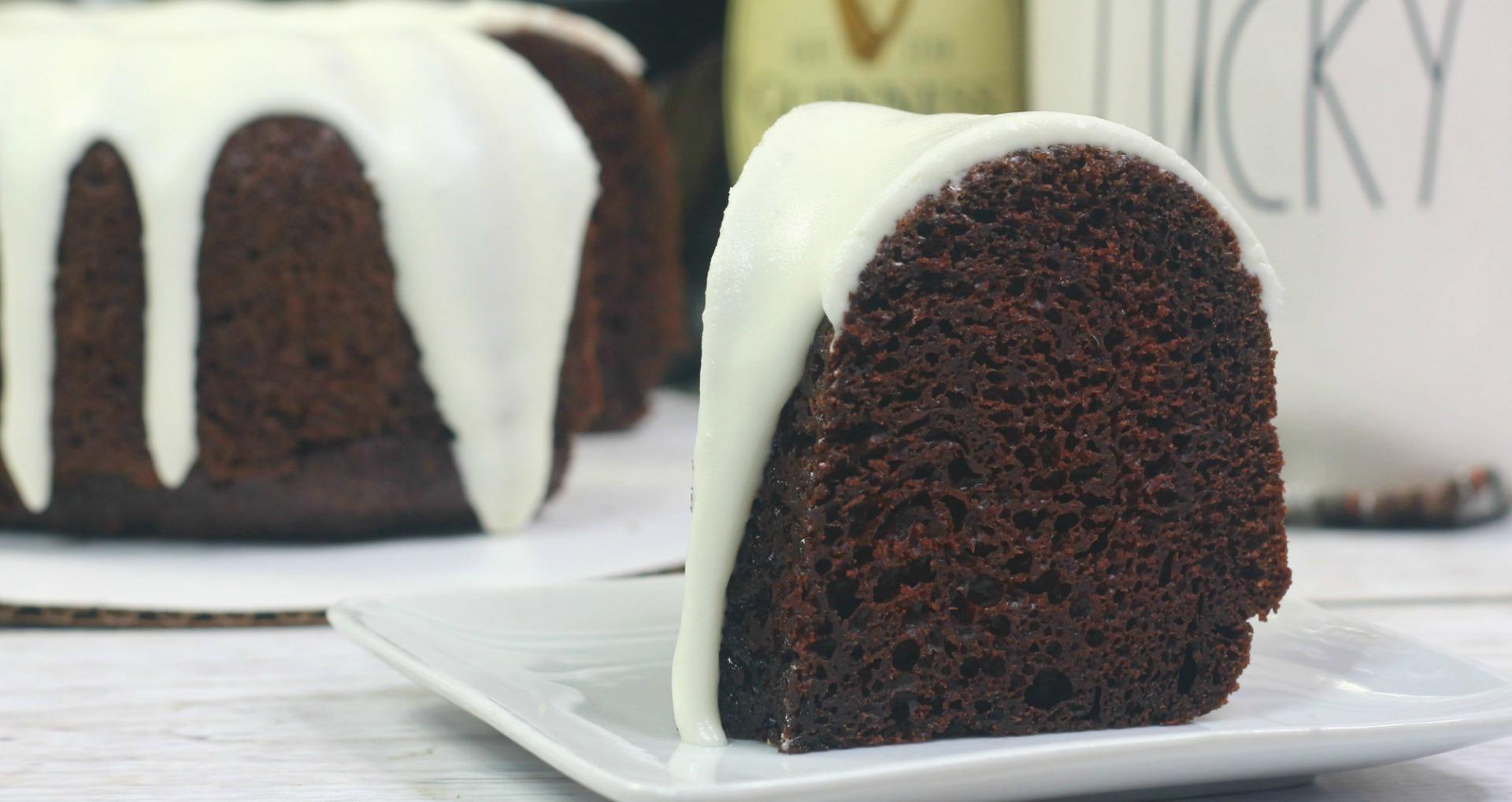 Instant Pot Guinness Chocolate Cake