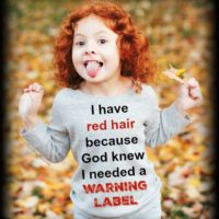 5 Hilarious Shirts for Red Heads